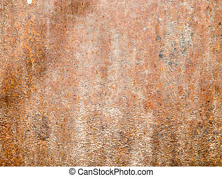 rusty metal as a background