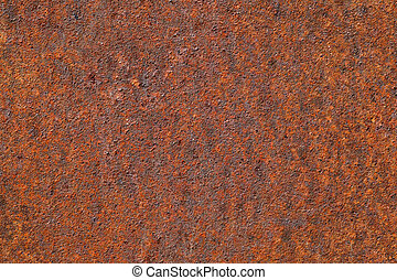 Rusty metal for background or texture