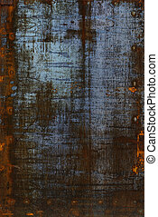 Abstract grung rusty metal surface closeup background