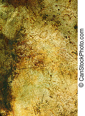 Rusty metal texture - Background abstract image texture of...