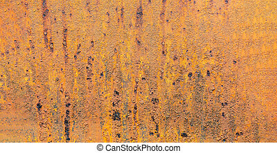 Rusty Metal texture with scratches and cracks which can be used as a background. banner