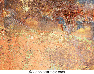rusty metallic surface great as a background