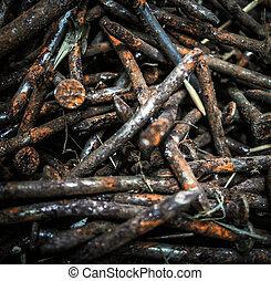 Rusty nails