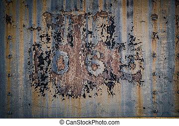 Rusty Numbers Peeling