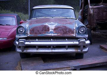 Rusty old Car 1
