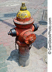 Rusty Old Fire Hydrant