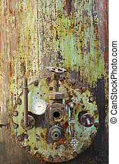 Rusty old machine