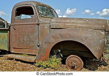 Rusty old Pickup