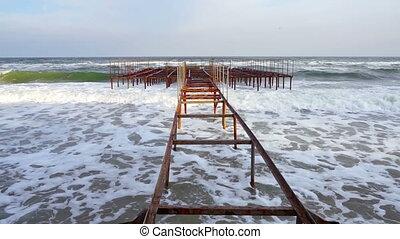 Rusty Old Pier.