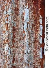 rusty paint
