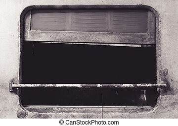 Rusty rail window