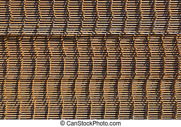 Rusty reinforcement bars - Stack of rusty reinforcement bars