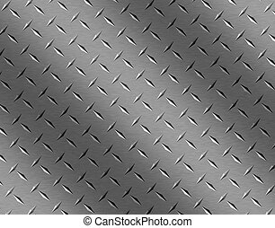 rusty rivets plate metal background