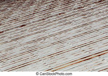 Rusty roof metal sheet