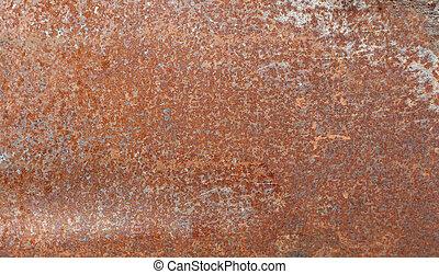 Rusty sheet background