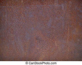 rusty steel plate - heavy metal rusty old steel plate...