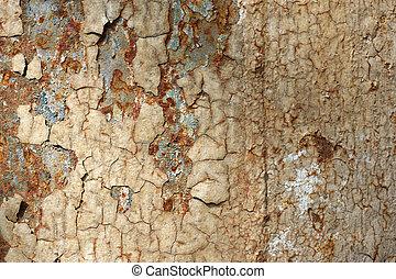 Rusty surface - Full screen high resolution shot of rusty...