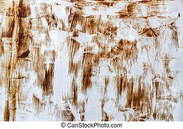 Rusty surface with scratches texture background - Rusty...