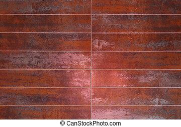 Rusty tiles