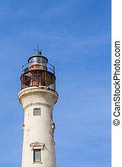 Rusty Top of Aruba Lighthouse