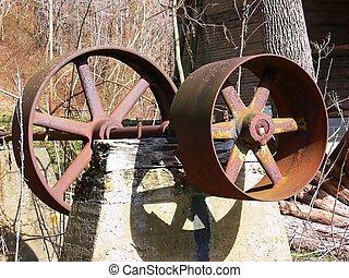 Rusty wheel 60045