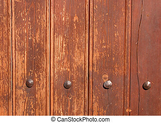 Rusty wood abstract