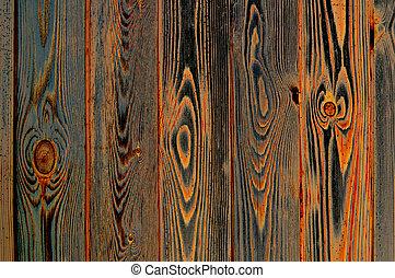 Rusty wood - Wooden wall