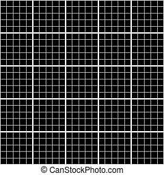 ruszt, wykres, seamless, milimetr, piątka, próbka, czarnoskóry, biały