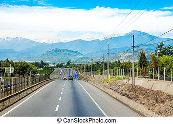 Chile Highway 5 or Route 5 known locally as Ruta 5 is Chile's longest route. It is part of the Pan-american Highway.