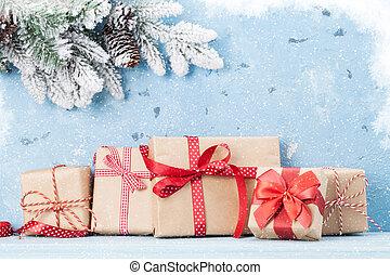 rutor, bakgrund, julgåva
