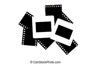 rutsche, rahmen, film