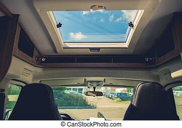 RV Camper Van Road Trip