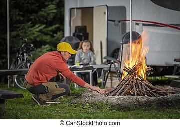 RV Camping Vacation