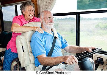 RV Seniors Hit the Road