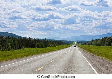 rv, southbound, alcan, erőd, járom, időszámításunk előtt, kanada