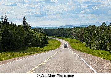 rv, vezetés, alcan, déli, erőd, járom, időszámításunk előtt, kanada