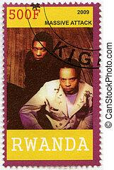 RWANDA - 2009: shows Massive Attack