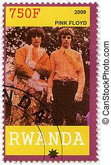 RWANDA - 2009: shows Pink Floyd