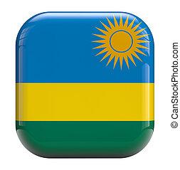 Rwanda flag icon