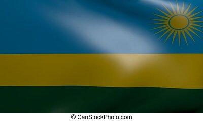 rwanda strong wind flag