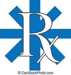 RX - a vector rx illustration
