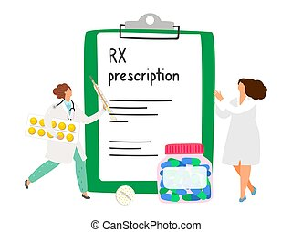 rx, prescripción, concepto