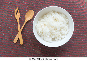 ryż, urżnięty