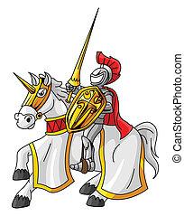 rycerz, jeździec