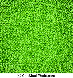 rynkat, färg, lätt, vävnad, grön, texture.