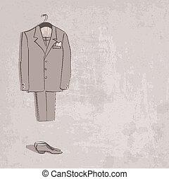 rys, szambelan królewski, garnitur