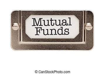 rysownik, fundusze, wzajemny, rząd, etykieta