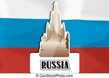 ryssland, illustration