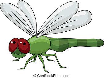 rysunek, dragonfly