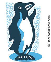 Rysunek, Pingwin